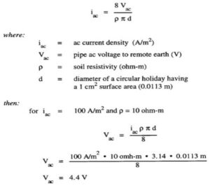 example of voltage drop calculation and cable selection