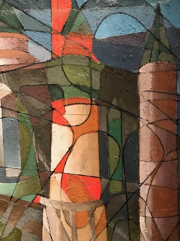 which of these paintings is an example of cubism