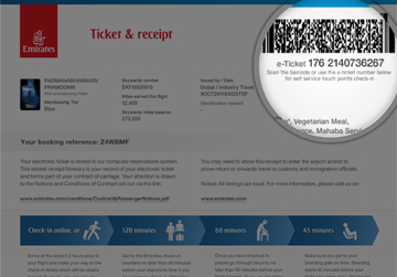 lufthansa frequent flyer number example