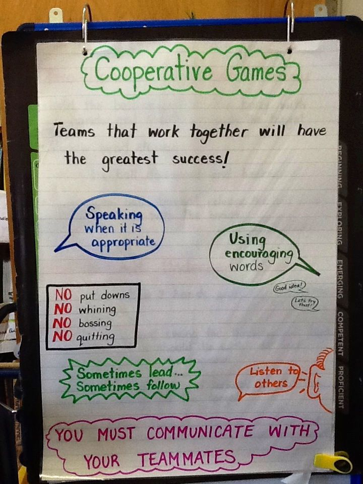 example of team building games