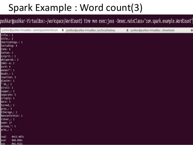 spark word count java example
