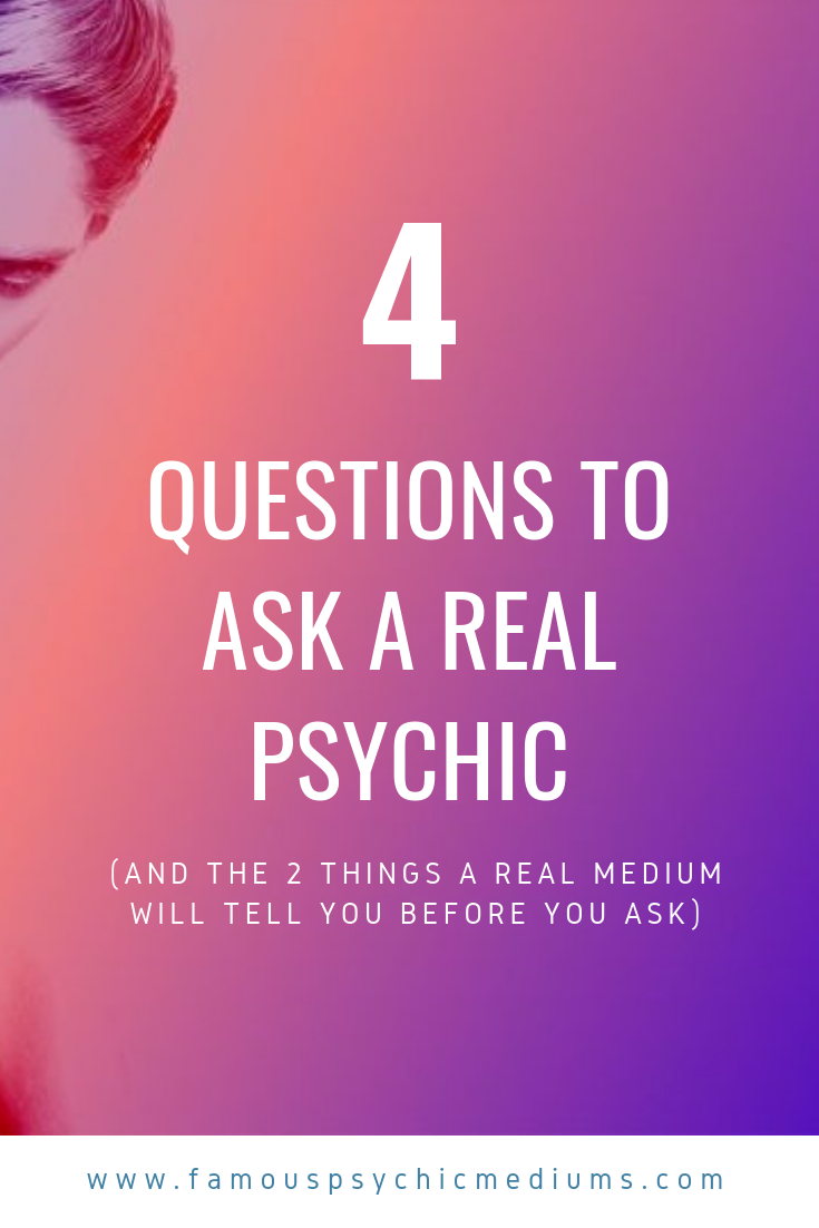 example questions to ask a psychic