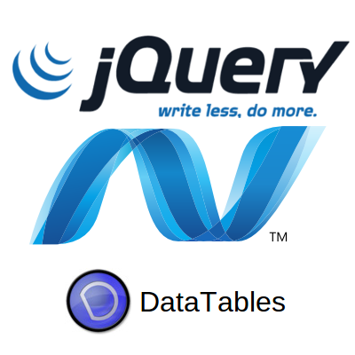 jquery datatable example in asp net