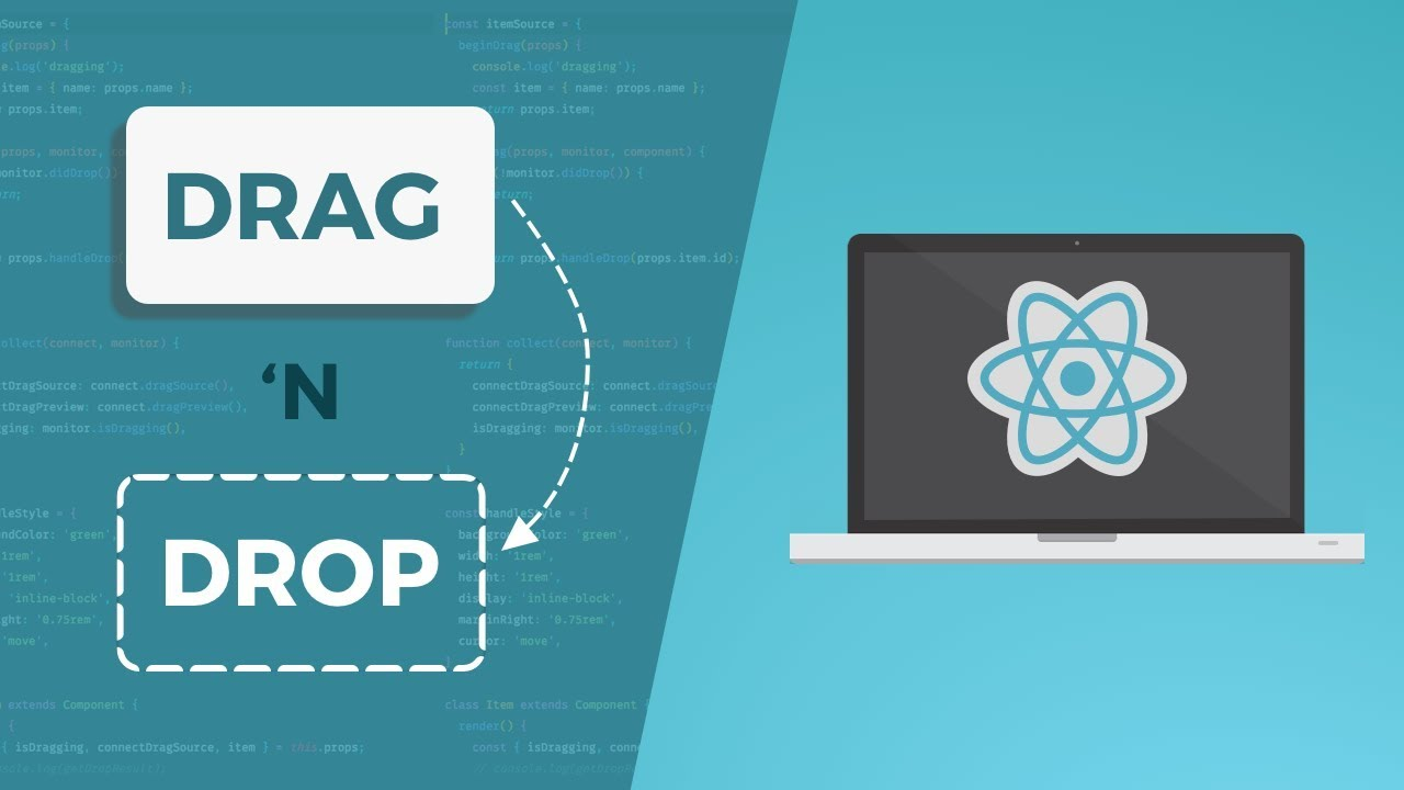 react drag and drop example