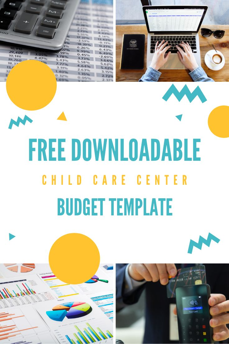 example startup budget child care center
