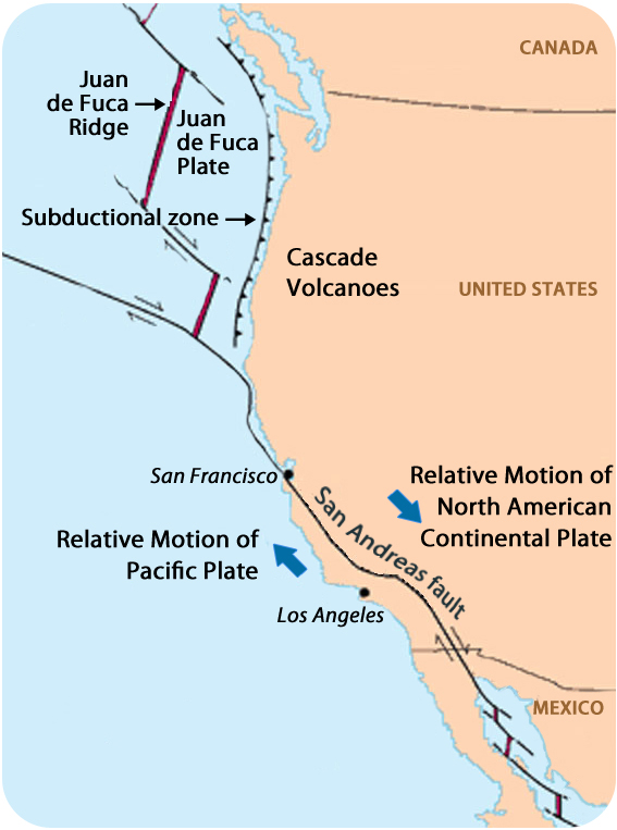 what state is an example of a peninsula