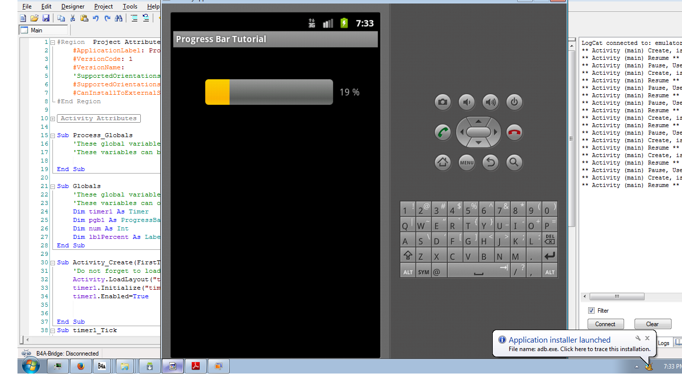 android action bar example source code