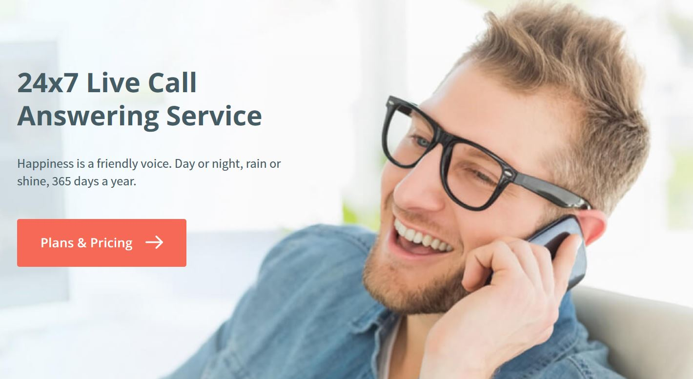 example of answering phone calls