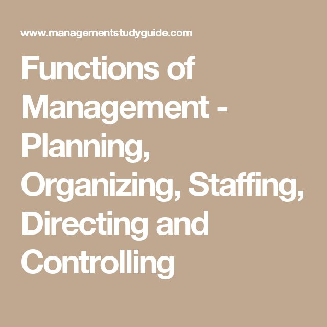 controlling function of management example