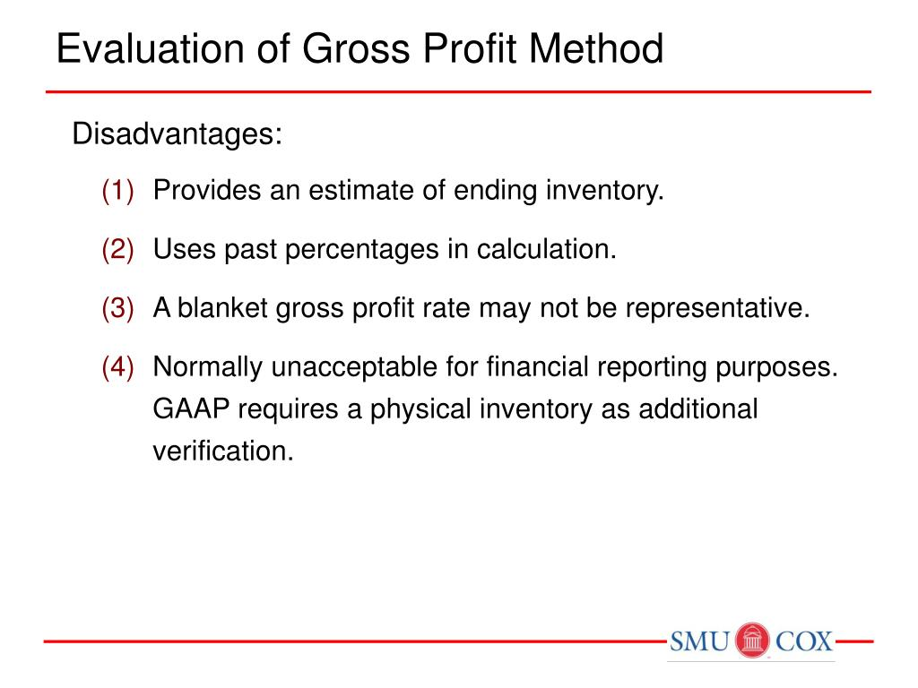 conventional retail inventory method example