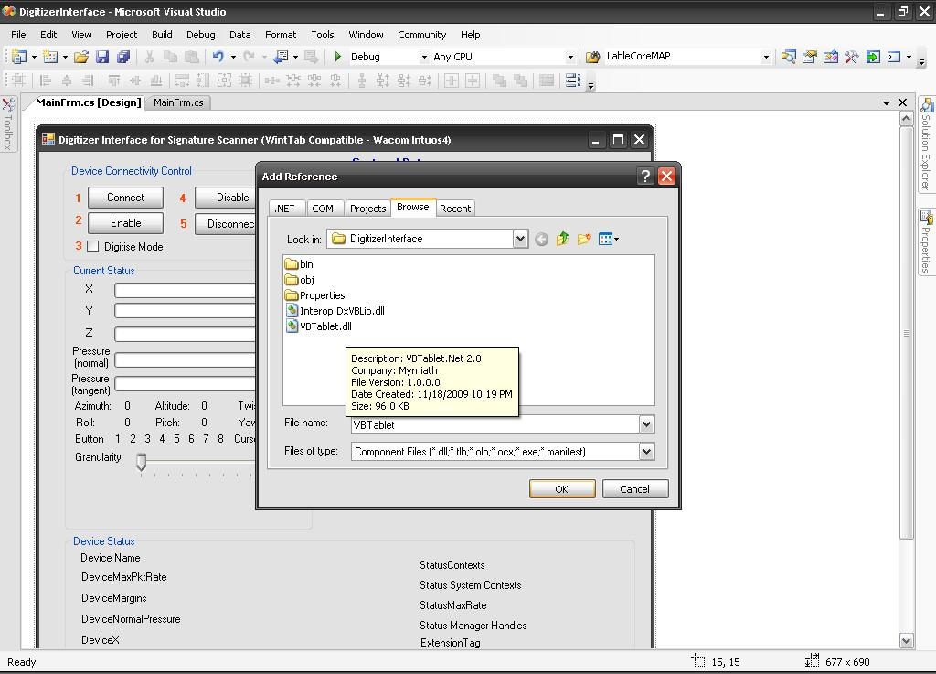 interface in c# with example code project