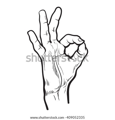the okay sign is an example of an illustrator