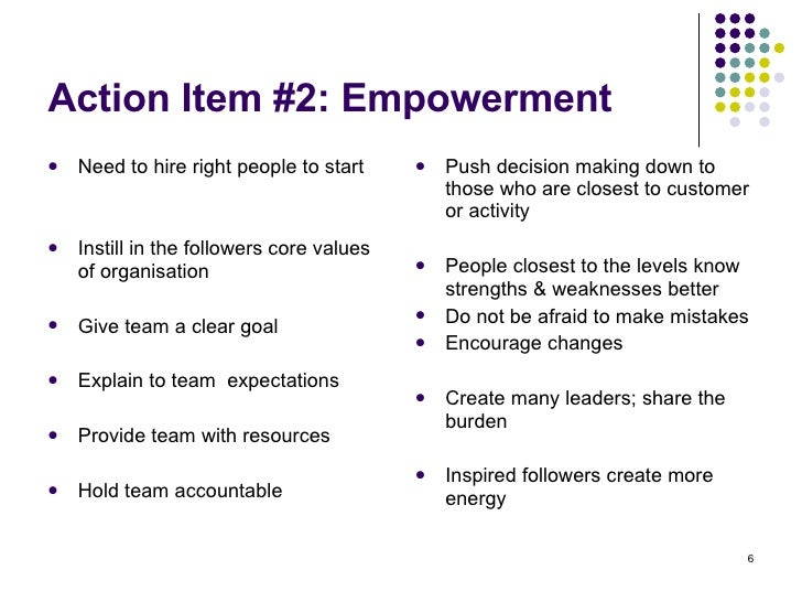 personal leadership development action plan example