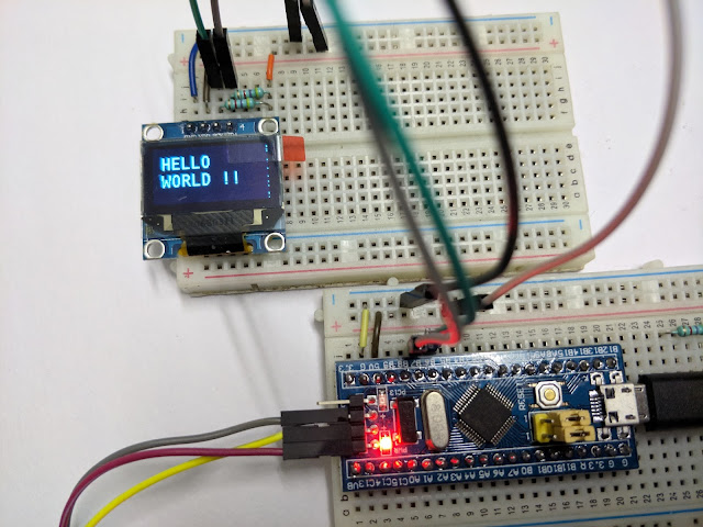 i2c example code for stm32