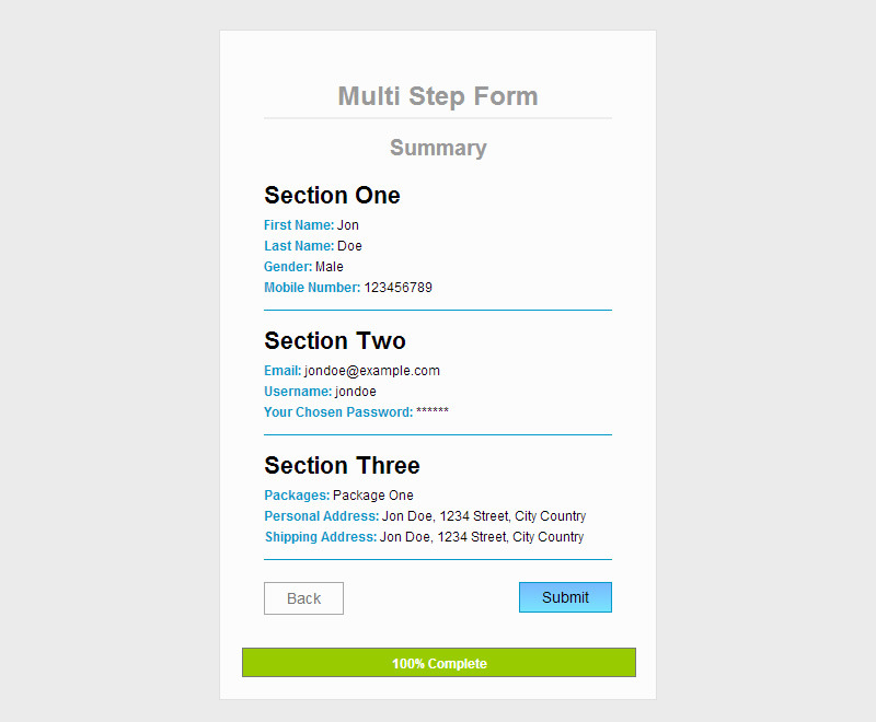 jquery mobile multiple html files example