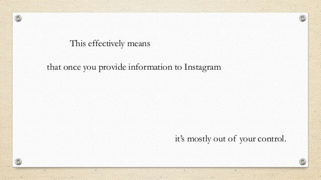 privacy policy url instagram example