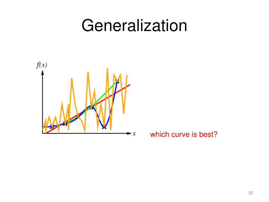 which of the following is an example of a generalization